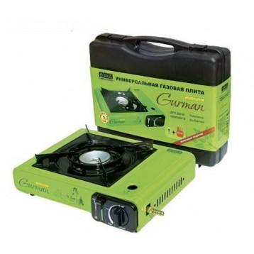 Плита газовая CW Gurman Universal (цанг.газ картридж-2,2кВт или газ.баллон 2,12,27л, 2,0кВТ) 382008