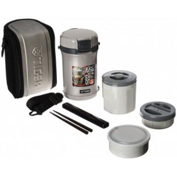 Термос Tiger для еды с контейнерами 0,8л 0,34л 0,27л LWU-B200 SE