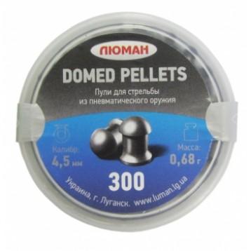 """Пули """"Люман"""" Domed pellets кал. 4.5 (300 шт.) 0,68г"""