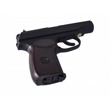 Пистолет пневматический Stalker SРM (аналог ПМ) к.4,5 мм, пл, 120 м/с, черный, +250 шар ST-12051PM