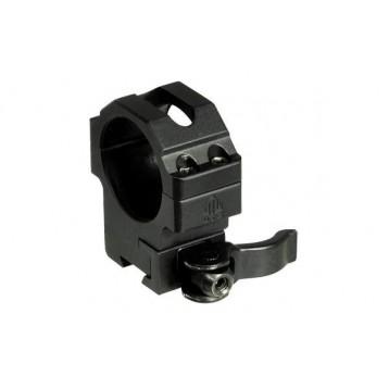 Кольца  Leapers UTG 25,4 мм быстросъемные на 11мм с зажимом, средние 1154