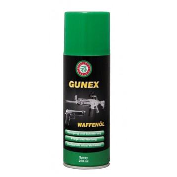 Масло оружейное Ballistol Gunex spray 200 ml  22200-RU