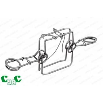 Капкан проходной КПя -120 гуманный, размер прохода 120 мм (СУАС)