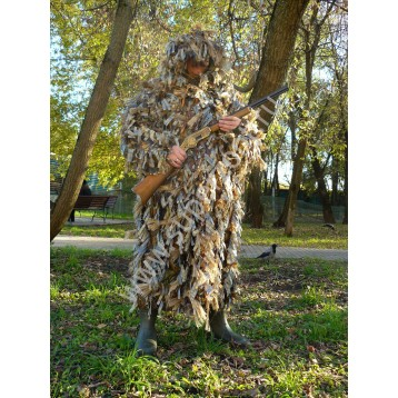 Костюм КИКИМОРА (куртка и защитные чехлы для брюк) для охоты на гуся (С208/11)  (МАПКФ Зонт)