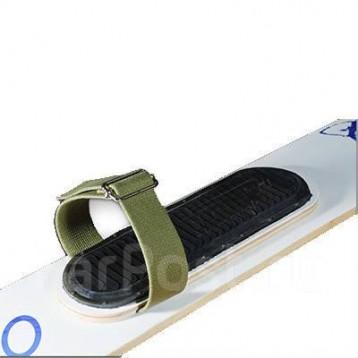 Крепление для охотничьих лыж (ремень носковой 45мм, 2шт, брезент+ремень пяточн 12мм) Киров 02100873