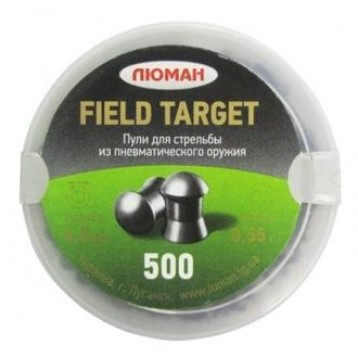 "Пули ""Люман"" Field Target (0,55г, 500 шт.)"
