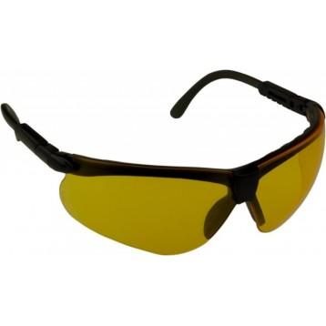 очки стрелковые Puma жёлтые (УФ-защита, класс оптики 1, незапотевающие, регулируемые дужки, сменные