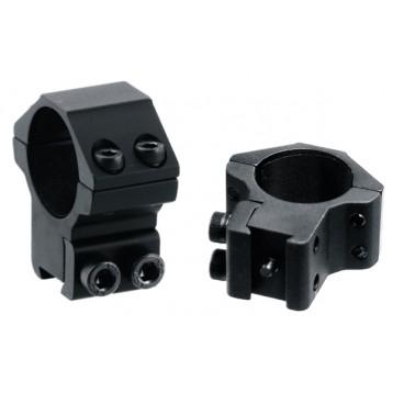 Кольца Leapers AccuShot 25,4 мм на призму 10-12мм, средние